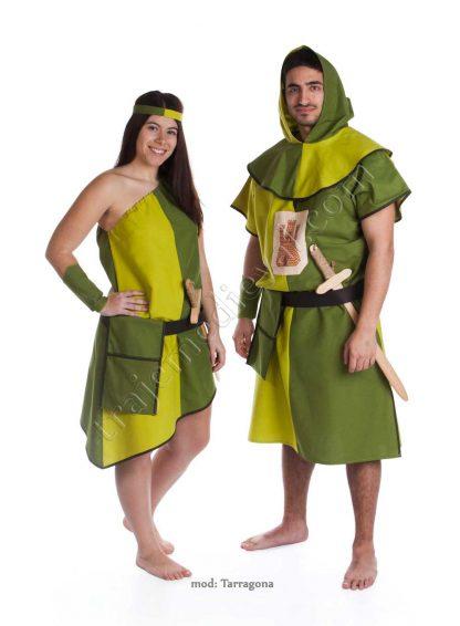Traje arquero Tarragona Verde