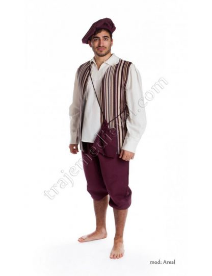 TRAJE MEDIEVAL CANTINERO AREAL